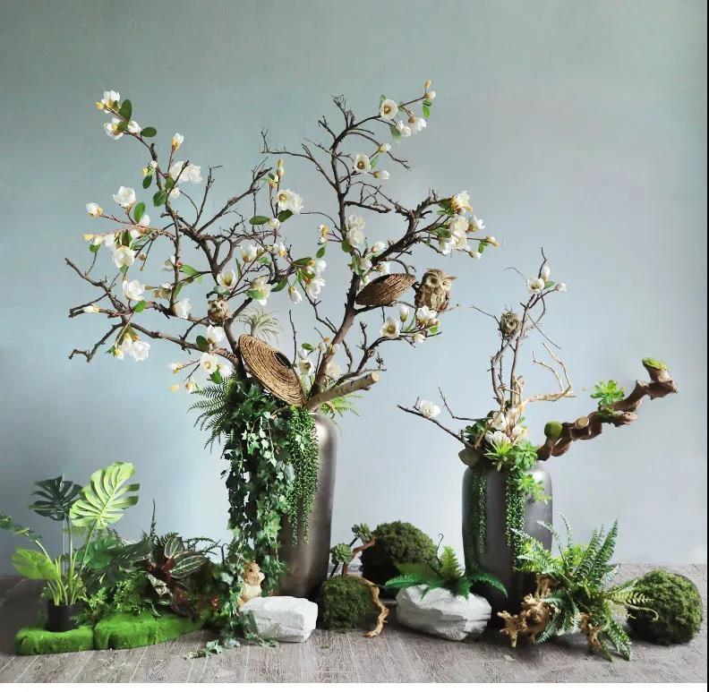 室内造景选仿真植物有哪些好处?