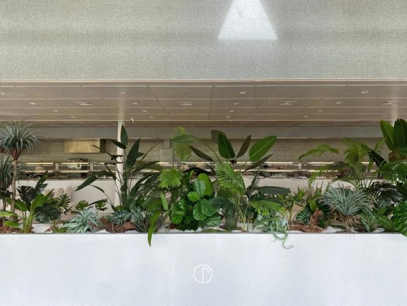 室内仿真植物景观设计